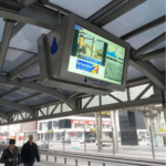 Caisson mural HYUNDAI 65 pouces avec Player Média (USB) - Borne d