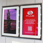 Caisson mural outdoor HYUNDAI 55 pouces – Lecteur média (USB) - Caisson extérieur information