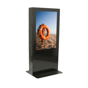 "Totem tactile intérieur - Ecran LED 46"" - Dalle tactile multi-touch - BORNE-INTERIEUR-TACTILE-46"