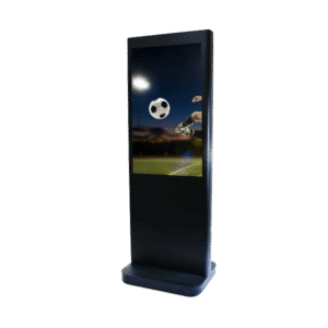 "Borne/Totem Tactile intérieur Mobile - Ecran LED 46"" - Dalle tactile multi-touch - TOTEM-INTERIEUR-MOBILE-42"