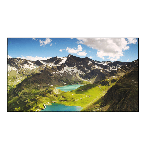 "Ecran 46"" pour mur d'images bord ultra-fin (5.9mm) - D46DFN - ecran-mur-image-D46SFB[1]"